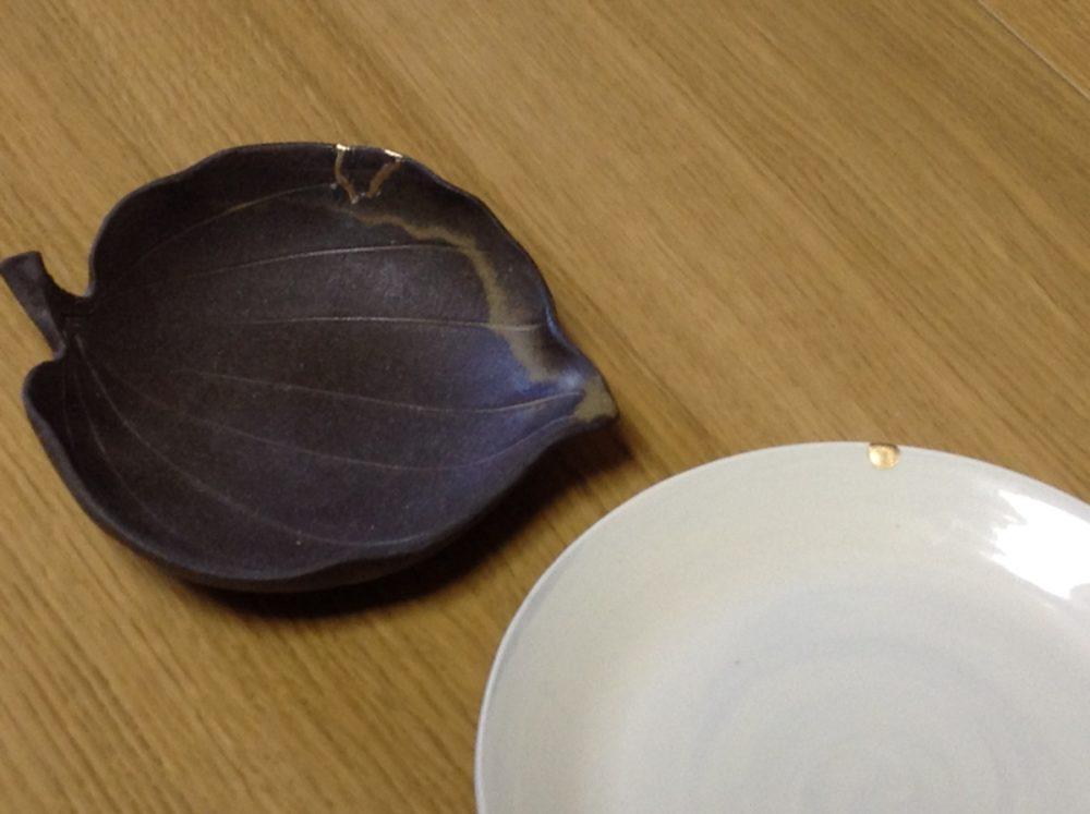 陶磁器修理 簡易金継ぎ修理