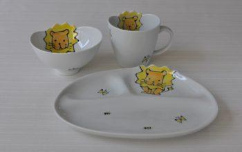 波佐見焼 子供食器セット ライオン
