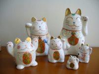 外山亜基雄 招き猫
